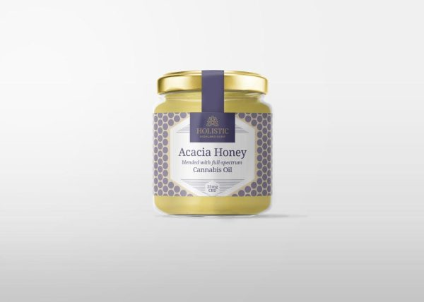 Acacia Honey Blended With Full-Spectrum Cannabis Oil