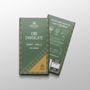 CBD Chocolate - Orange & Vanilla 100% Organic